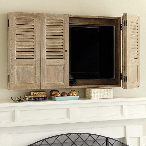 Shutter TV Wall Cabinet from Ballard Designs