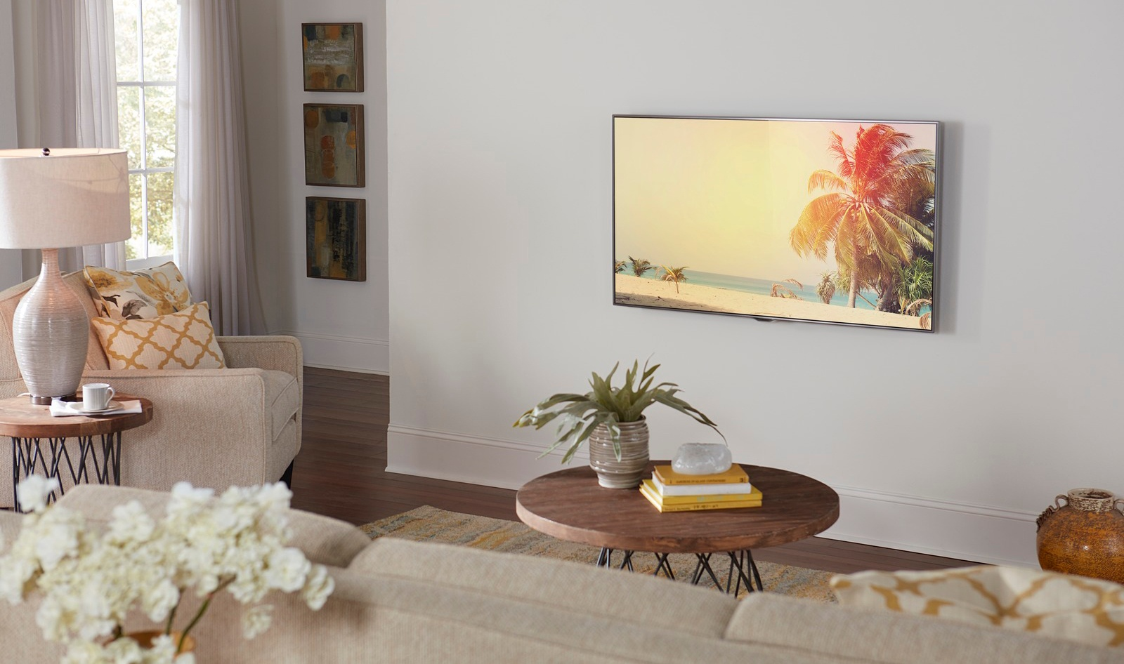 mount TV to wall