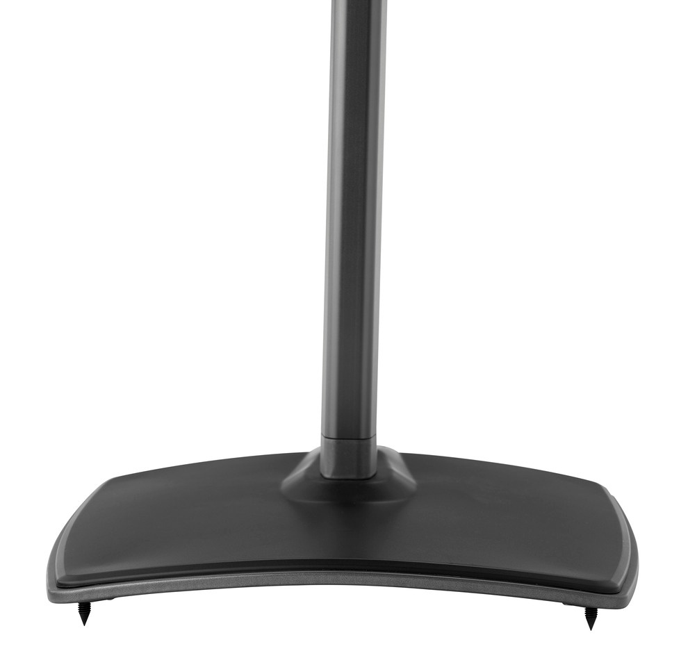SANUS WSSA1 Speaker Stand with Carpet Spikes